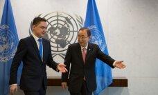 Eesti liigub ÜRO julgeolekunõukogu mittealaliseks liikmeks saamise poole