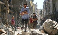 Активисты: повстанцев в Алеппо бомбят, несмотря на перемирие