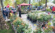 Türi lillelaat nagu aiapidajate suvepäevad