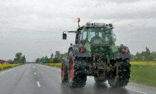 Joobes juht üritas politsei eest traktoriga põgeneda