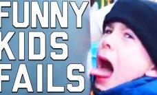 HITTVIDEO: Lapsed-lapsed, mis te teete?! Vaata kõige tragikoomilisemaid põrumisi, mis on juhtunud just neil kõige pisematel