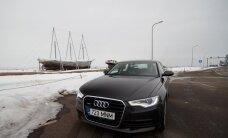 VIDEOTEST: Roboti näoga Audi A6 - oma klassi Hiiumaa või siiski Saaremaa?