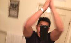 FOTOD: Aina jaburamaks läheb! Käed lahti selfi — uus kuum trend, kuidas oma mobiiltelefonist kiirkorras lahti saada