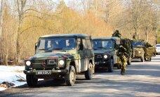 DELFI FOTOD: Kaitseväelased valmistuvad Viljandimaal Kevadtormiks