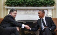 Обама и Порошенко обсудят сохранение санкций против России