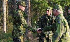 FOTOD: Eesti ohvitser kohtus õppusel Joint Action 14 Rootsi kuningaga