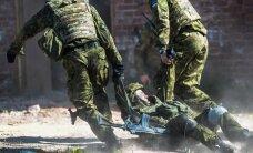 """ФОТО: В Ряпина проходят военные учения """"Весенний шторм"""""""