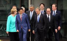 Лидеры G7 высказались за сохранение санкций в отношении России
