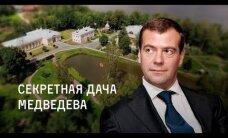 """ВИДЕО: Навальный показал секретную """"дачу Медведева"""""""