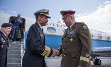 ФОТО: Террас встретился с главой стратегического командования США