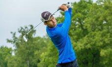 Tormituuled raputasid Eesti golfi meistrivõistluste tulemusi, 15-aastane Carl Hellat kerkis liidriks