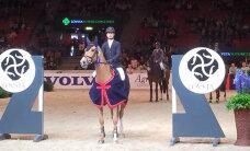 Eesti takistussõitja võitis Göteborgi Horse Show'l noorhobuste võistluse