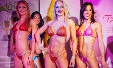 FOTOD: Kaunid ja lihases! Bikini fitnessi võistlejad demonstreerisid Butterfly lounge'is võistlusvormi