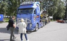 FOTOD JA VIDEO: Palju silmailu! Võimsad tuunitud rekkad Eesti esimesel Baltic Truck Showl