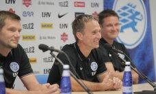 FOTOD: Eesti jalgpallikoondise uus peatreener Martin Reim: eesmärk on üles leida rõõm ja sära