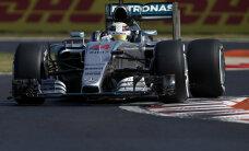 Hamilton võitis Ungaris ka teise vabatreeningu