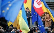 Михаил Саакашвили провел в Киеве акцию за роспуск Верховной рады