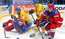 ВИДЕО: Россия победила шведов, Комаров забросил шайбу канадцам