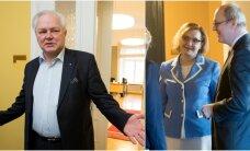 Riigikogu ees andsid ametivande riigikogu liige Rait Maruste ja minister Maris Lauri