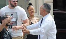 HARV VAATEPILT: Alati üles löödud Rihanna näitas end paparatsodele ilma soengu ja meigita