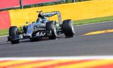 Rosberg võitis Belgia GP esimese vabatreeningu