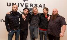 MUUSIKAT: Von Hertzen Brothers esitles Universal Musicu kontoris Publikule oma värsket loomingut