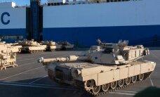 Первые американские танки прибыли в Польшу, очередь за странами Балтии