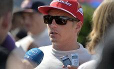 Räikkönen peab stardirivis loovutama viis kohta
