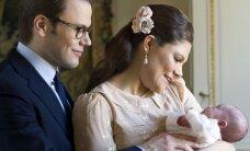 Kuninglik tähtsündmus! Täna ristiti Rootsi kuningalossi kabelis printsess Estelle