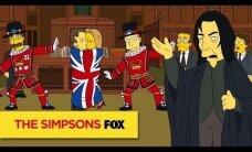 VAATA: Simpsonid avaldasid enneaegselt austust kadunud David Bowiele ja Alan Rickmanile