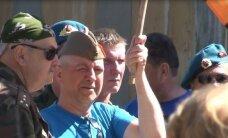 ФОТО: Подозреваемый в шпионаже против России эстоноземелец праздновал День Победы в Кохтла-Ярве