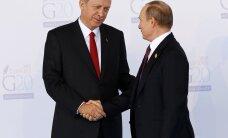 Analüütik Vene-Türgi ootamatust suhete soojenemisest: pole välistatud, et tegemist oli eelnevalt kokkulepitud ühislavastusega