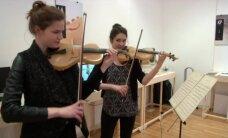 VIDEO: Kuula, kuidas kõlab ämblikulõngast keeltega viiul