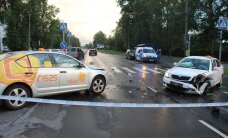 Päev liikluses: Tallinnas sai viga Harley-Davidsoni juht, Valgamaal sõitis lätlane otsa kitsele, Keilas sai autolt löögi 6-aastane tüdruk