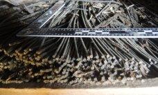 FOTO: Valgamaal leiti koristades kümme kilogrammi püssirohtu
