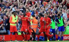 Liverpool purustas Inglismaa valitseva meistri 4:1