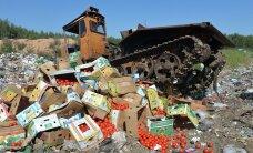 За год в России уничтожено более 7,5 тысяч тонн санкционных продуктов