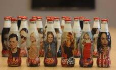 Äge kingitus: Coca-Cola kinkis kodumaistele staaridele enda pildiga pudeli