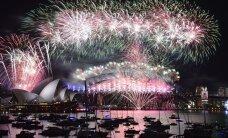FOTOD ja VIDEOD: VAATA, kuidas saabus 2016. aasta mujal maailmas