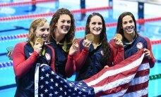 ТАБЛИЦА: За первую неделю Олимпиады США выиграли 50 медалей