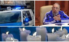 ГЛАВНОЕ ЗА ДЕНЬ: Смерть Фиделя Кастро и трагическое ДТП в Ида-Вирумаа