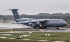 ФОТО: В Эмари приземлился один из самых больших транспортных самолетов в мире