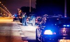 ФОТО: Полиция провела масштабную операцию по поимке уличных гонщиков у Юлемисте