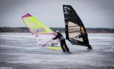 Harku järvel peeti talisurfi Eesti meistrivõistluste etapp