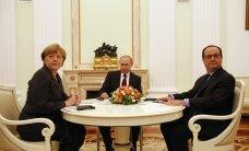 Путин договорился о встрече с Меркель и Олландом на саммите в Китае
