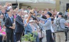 ФОТО DELFI: В Выру прошел парад в честь Дня победы