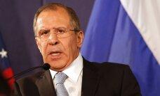Lavrov: Venemaa teeb kõik NATO ohu neutraliseerimiseks