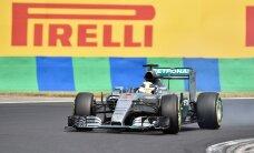 VIDEO: Hamilton alustab Ungari GP-d parimalt stardikohalt