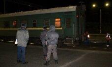 Peterburi-Tallinna rong põrkas Venemaal kokku sõiduautoga, milles hukkus kaks inimest