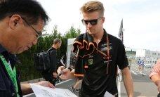 Vormel-1 piloot Nico Hülkenberg sõlmis uue lepingu